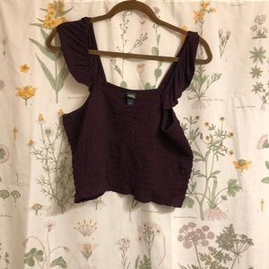 Wild Fable Cropped Tank Top
